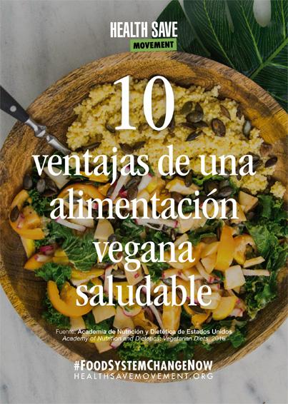 10 ventajas vegana saludable