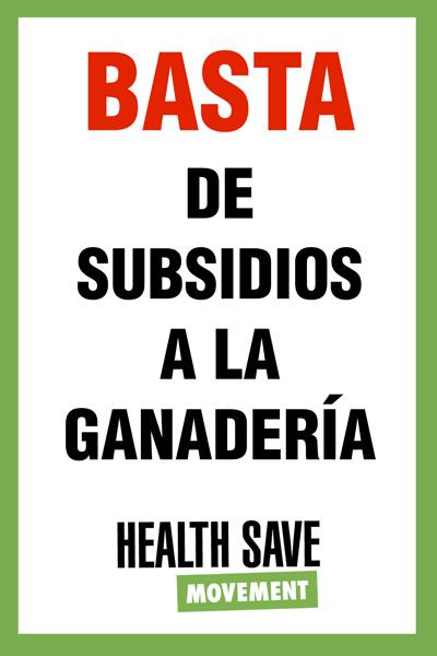 Basta de subsidios
