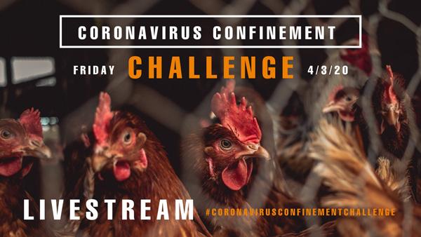 Coronavirus confinement challenge