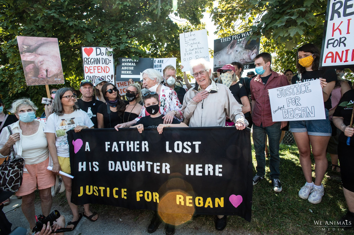 Vigil for Regan Russell