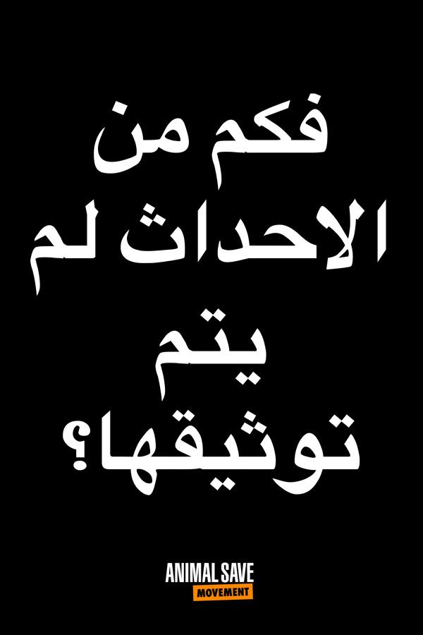 Arabic BLM placard 8