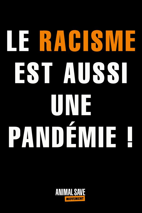 Le Racism Est Aussi Une Pandemie!