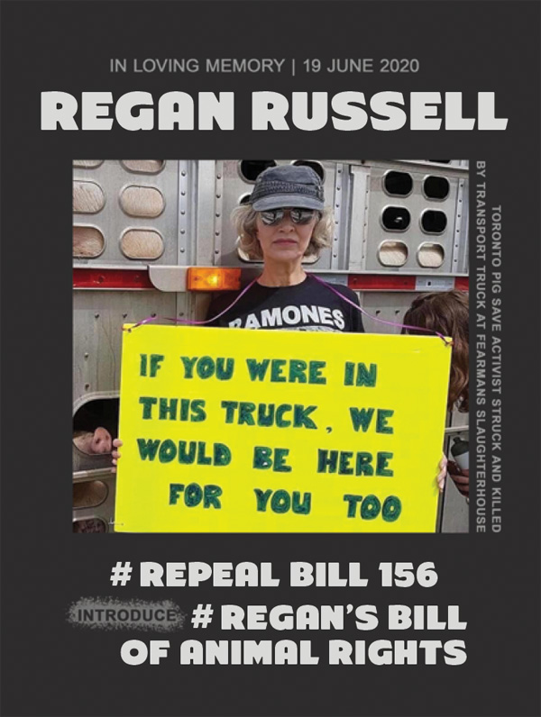 Regan Russell sticker