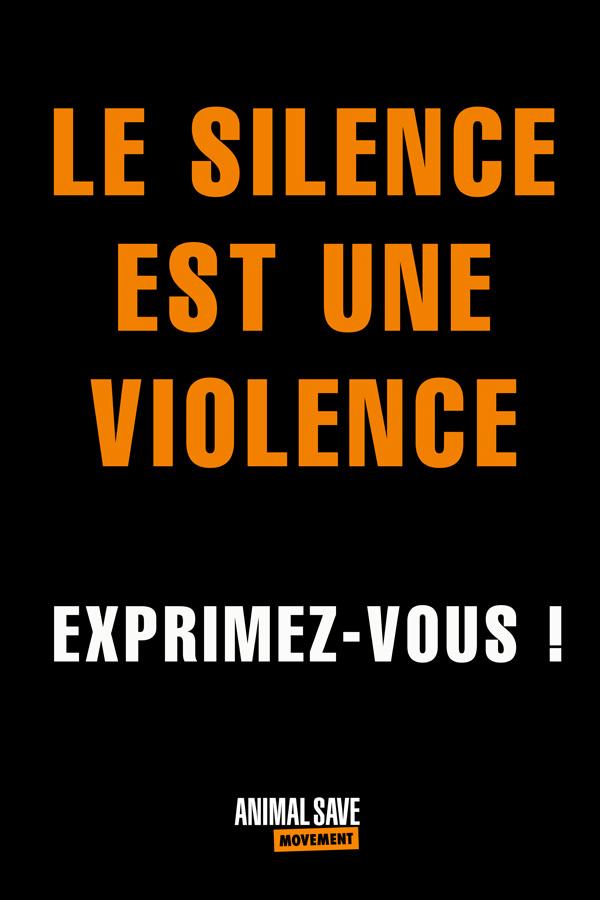 Le Silence est une violence