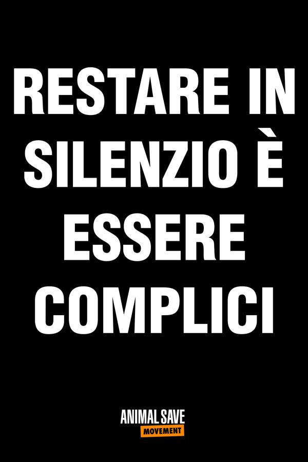 Restare in silenzio e essere complici