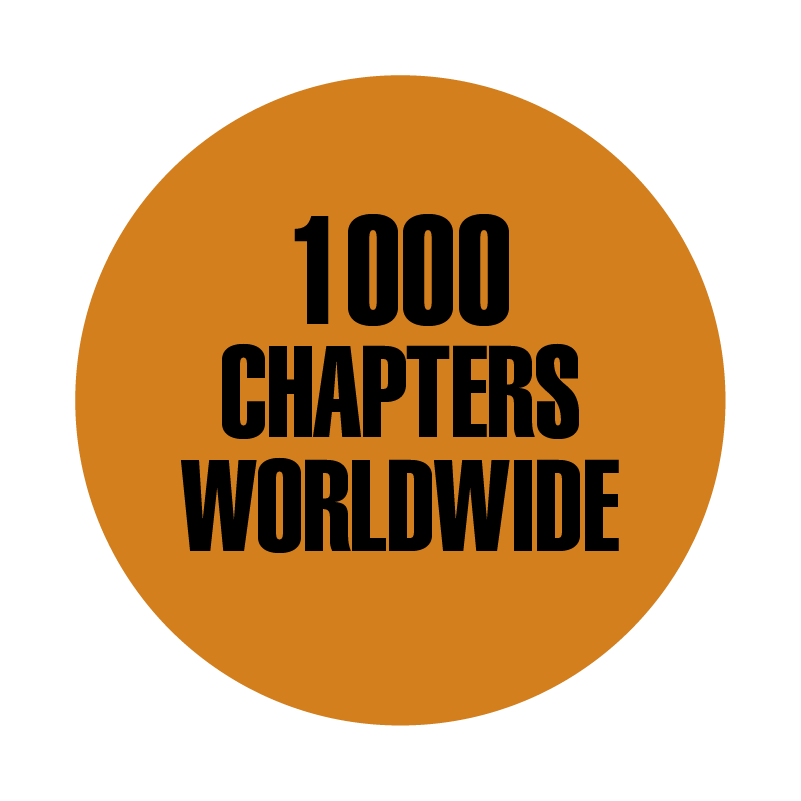ASM 1,000 chapters worldwide