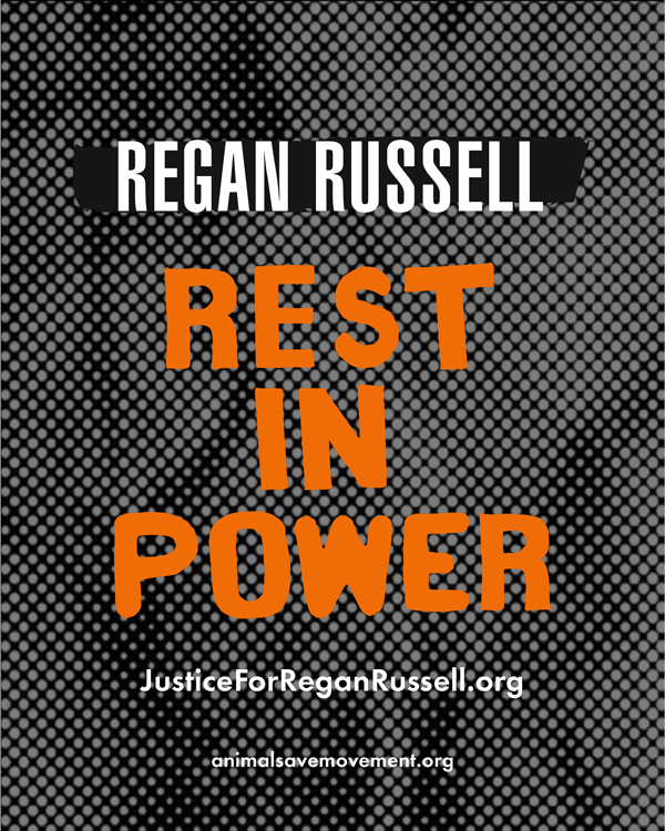 Regan Russell Rest in Power