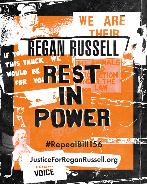 Regan Russell Rest in Power 2