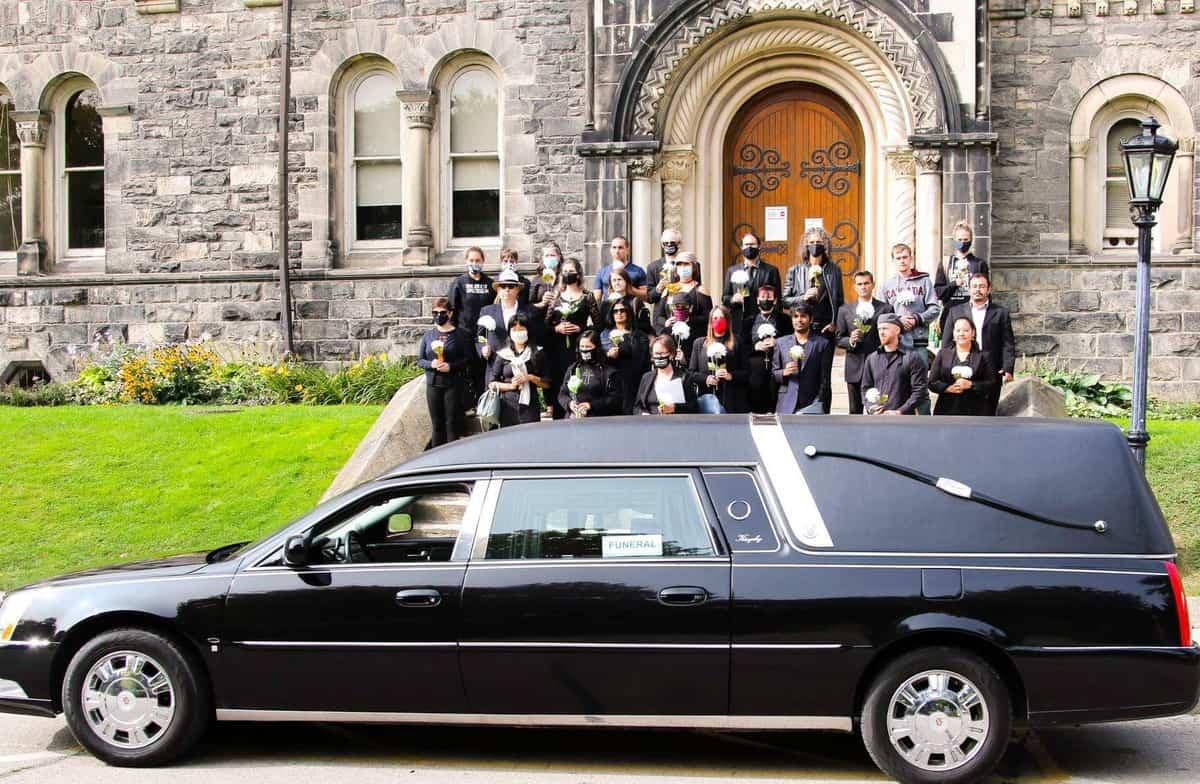 Regan Russell pressure campaign funeral