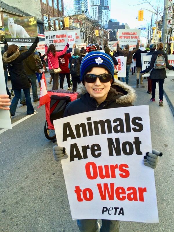 Vegan kids - Animals Are Not Ours to Wear