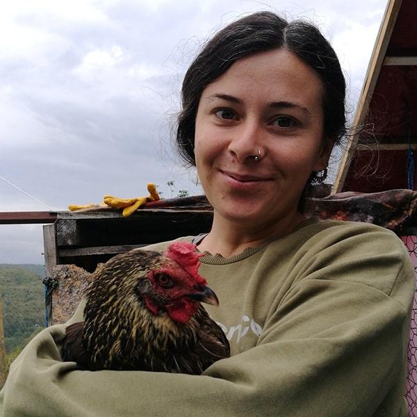 Activist Hati with Regan